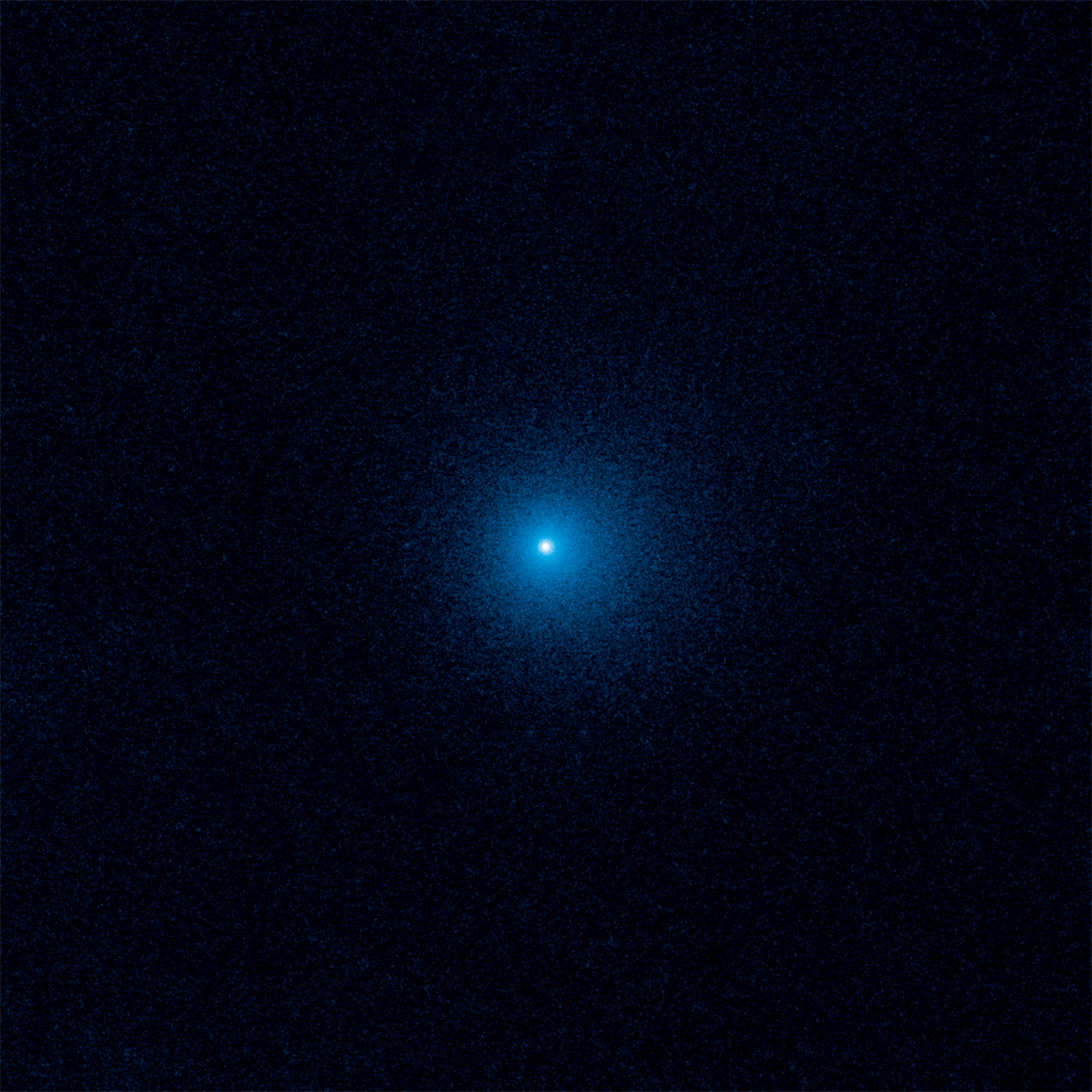 Farthest active inbound comet