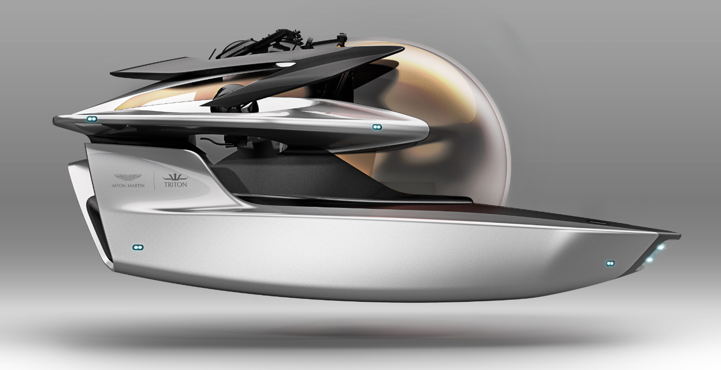 Aston Martin's limited edition submarine is totally my next auto