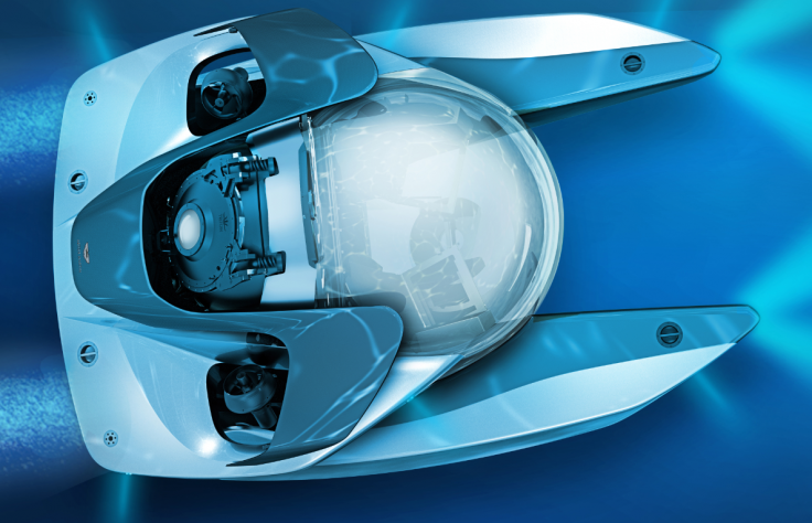Aston Martin Project Neptune submarine top
