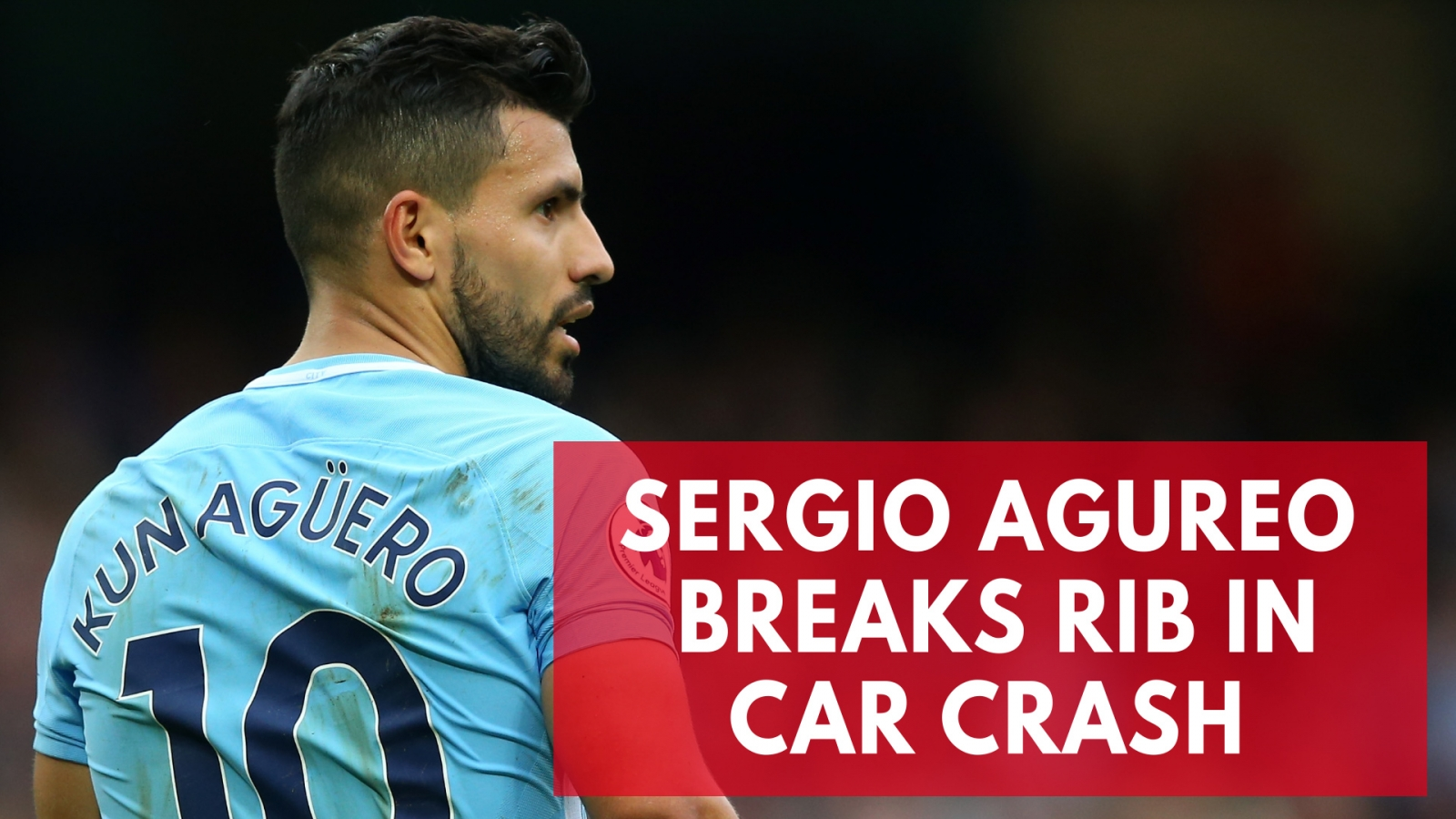Sergio Aguero to be assessed by Manchester City after sustaining