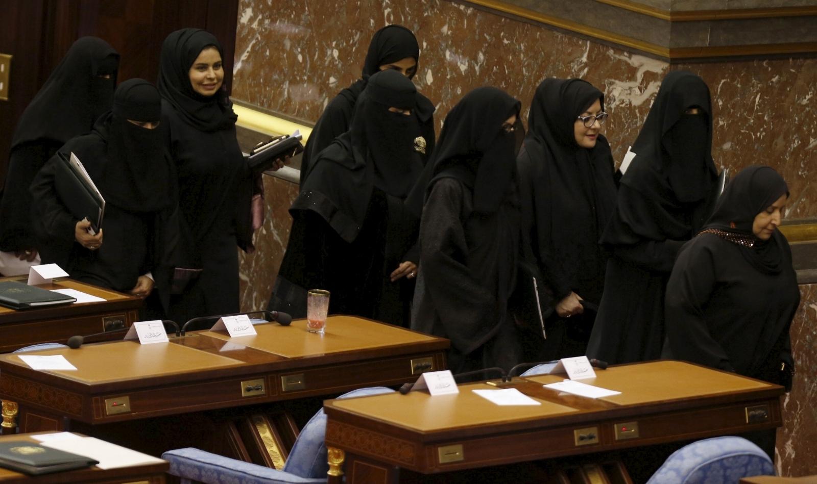 Shura council Saudi women