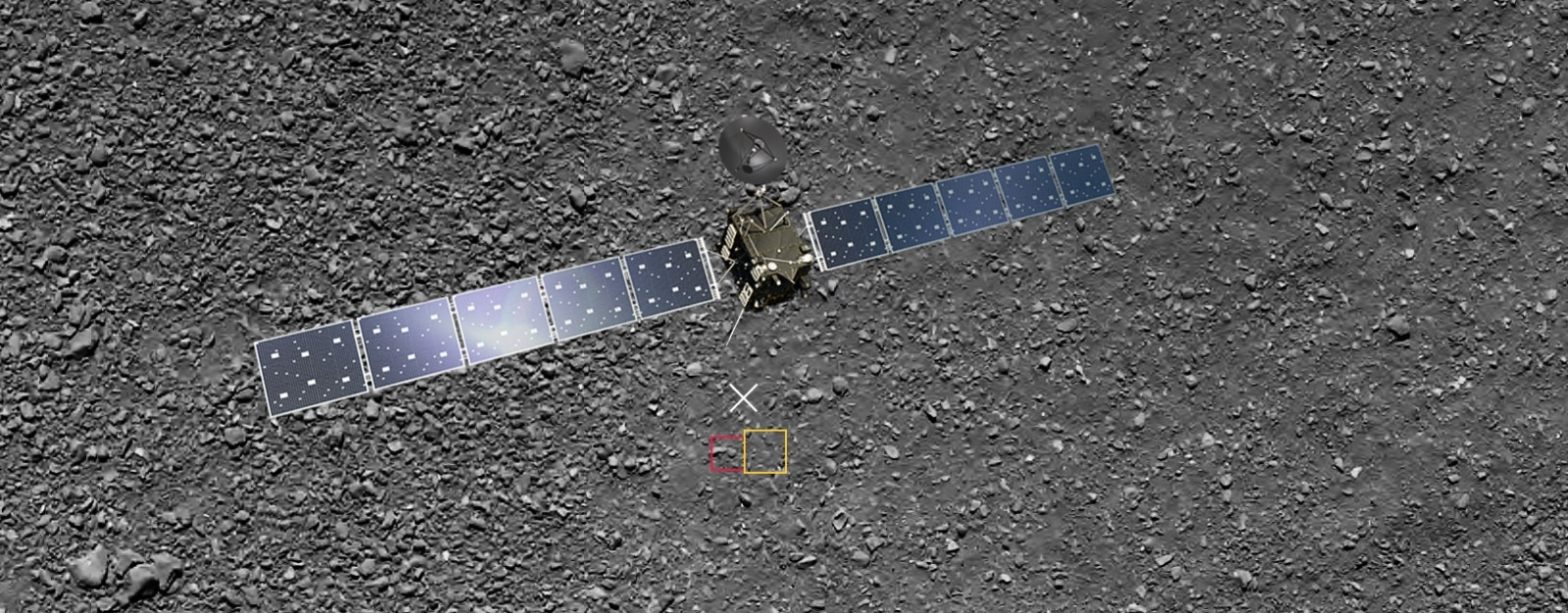 Rosetta landing site