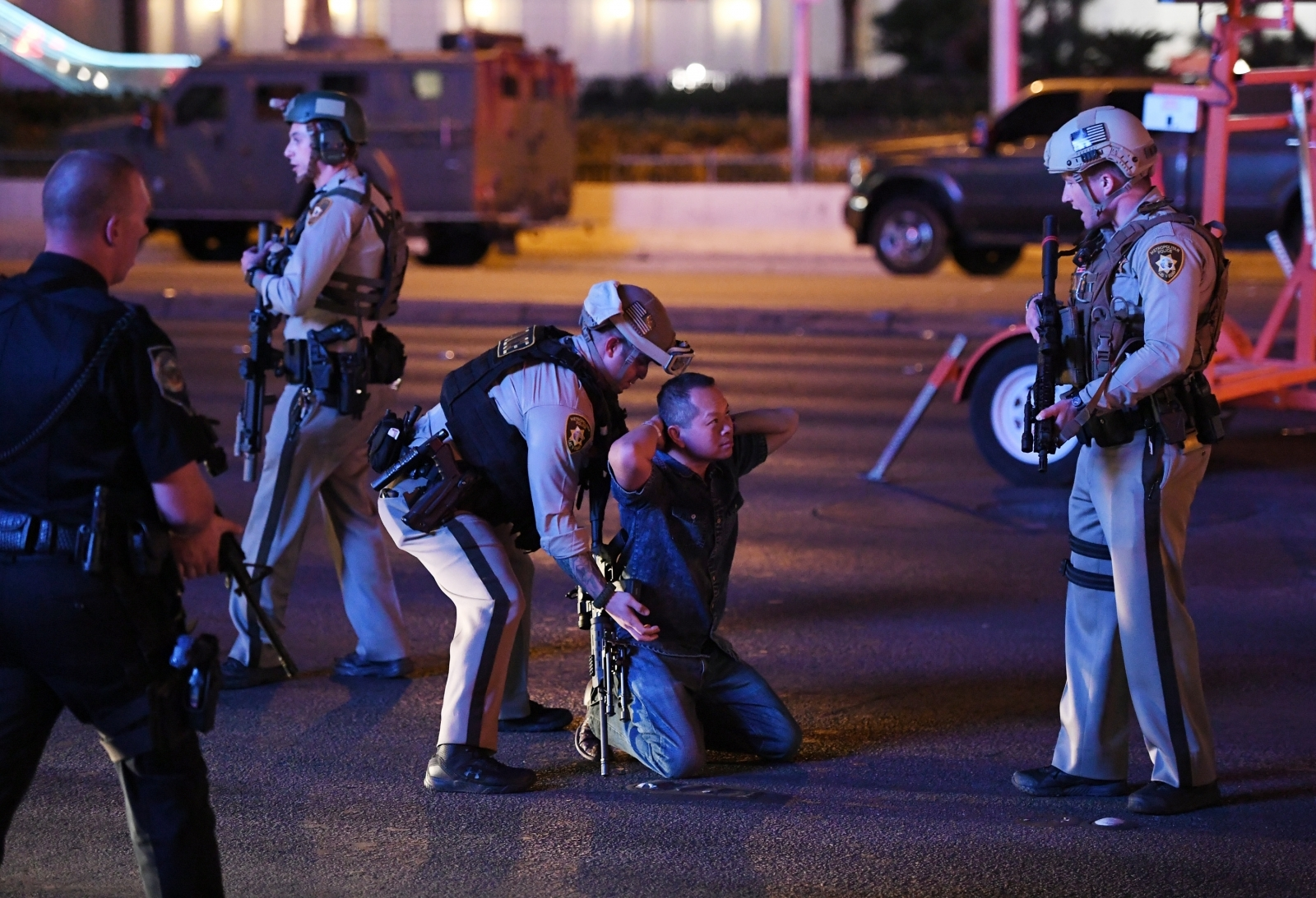 First Pictures And Video From Las Vegas Mass Shooting At