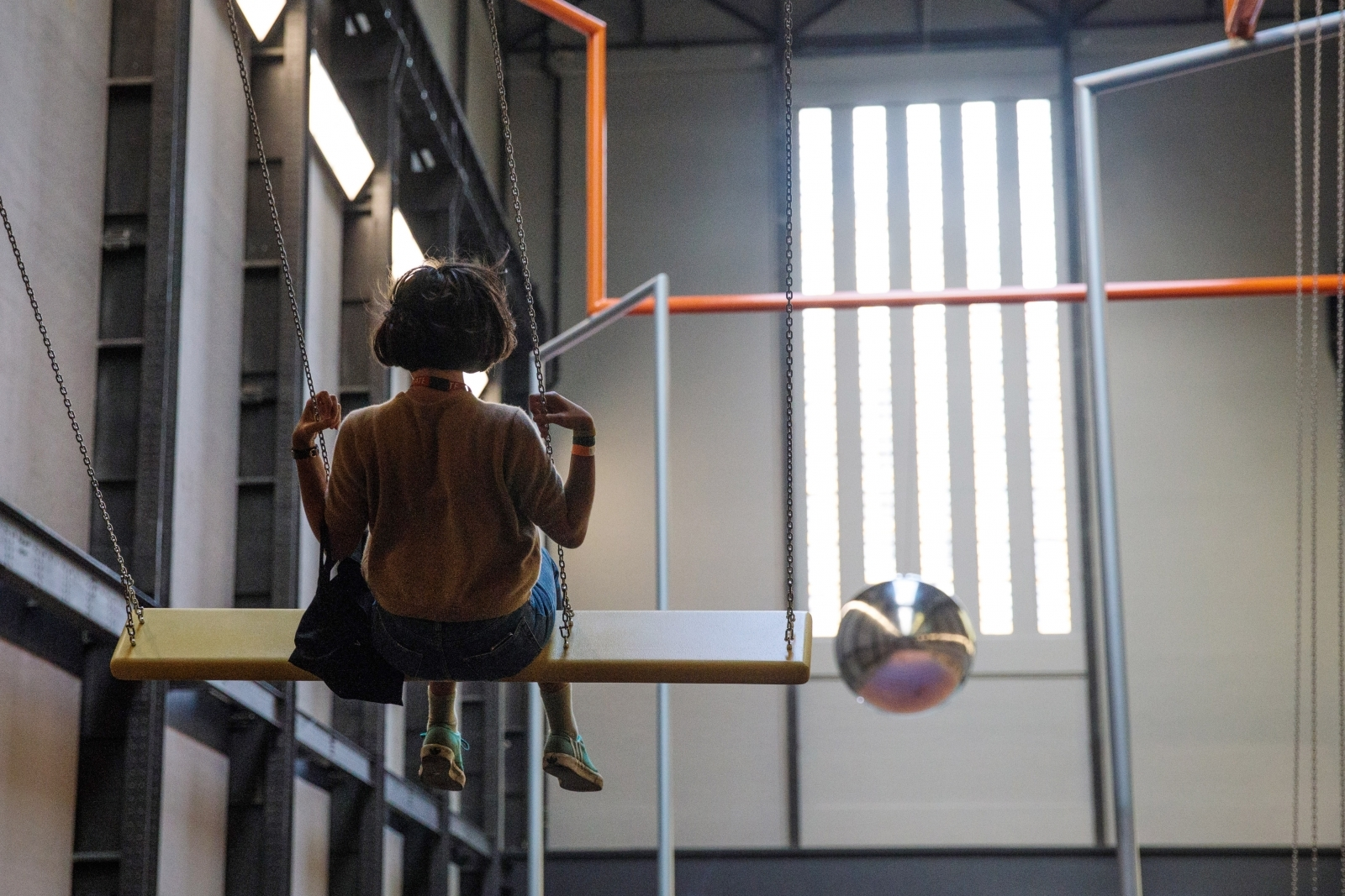 Tate Modern Turbine Hall Pendulum Superflex
