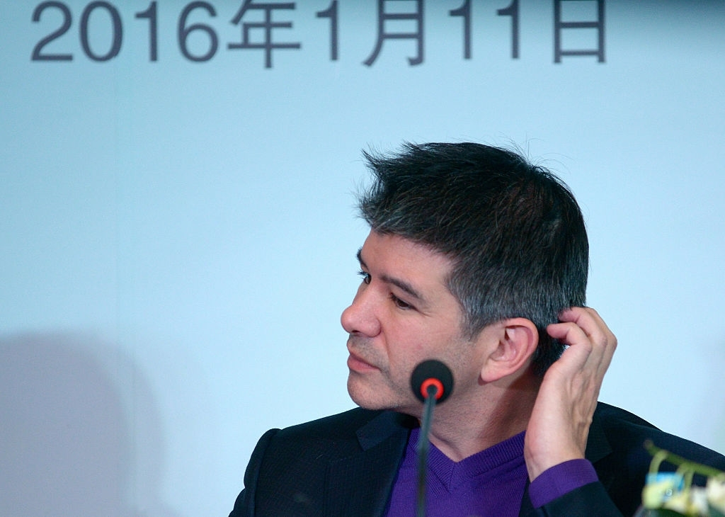 Uber cofounder Travis Kalanick