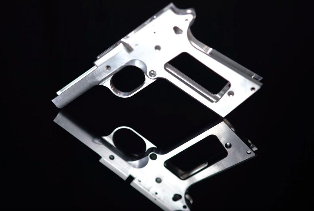 Ghost gun 3D printed pistol