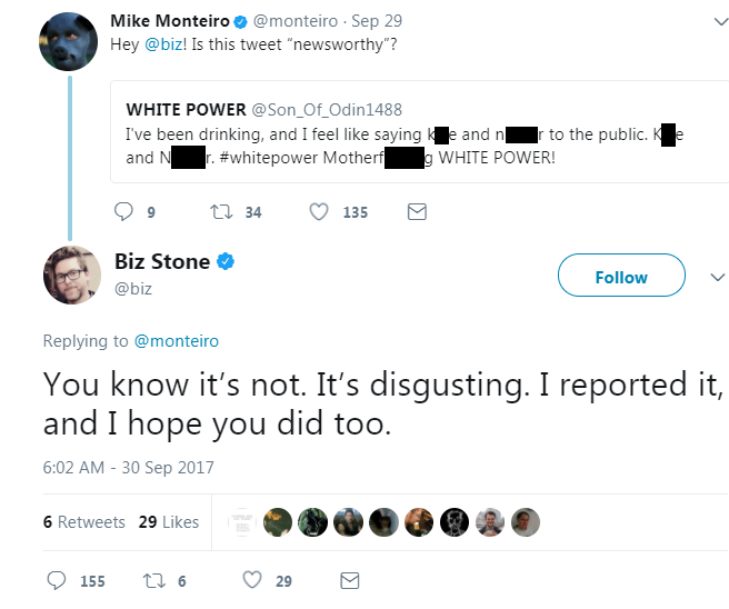 Biz Stone report Twitter