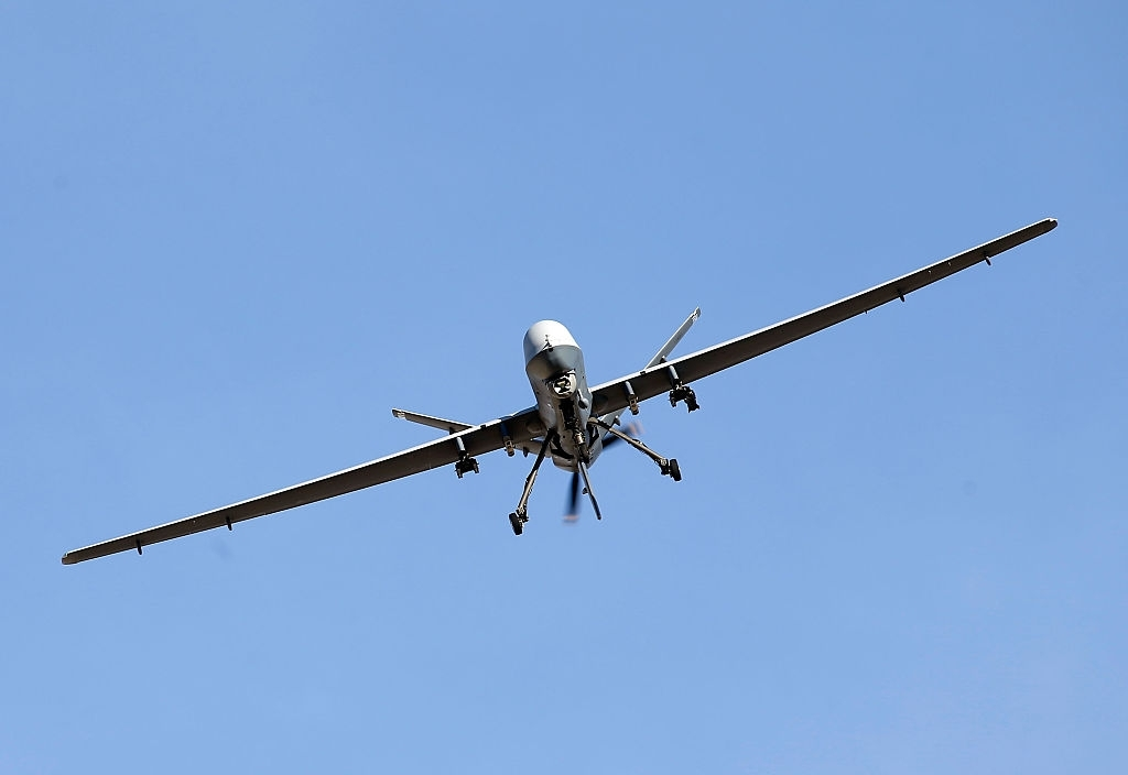 US Reaper drone shot down by MANPAD in Yemen