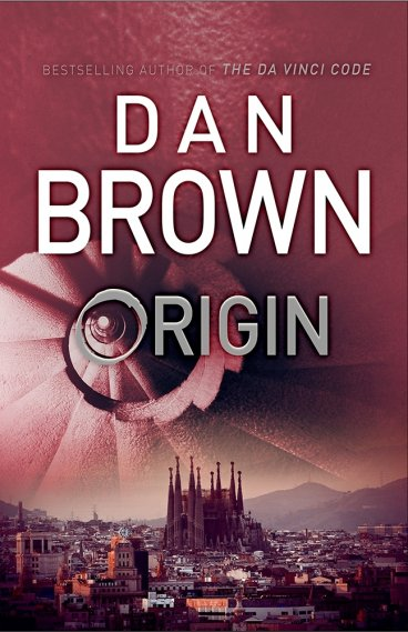 Dan Brown's latest novel Origin, the fifth novel to feature globe-trotting Harvard professor Robert Langdon