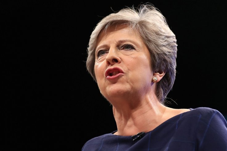 Theresa May gives Conservative party speech