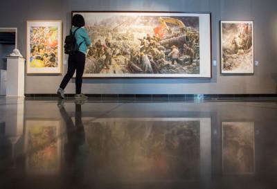 North Korean art