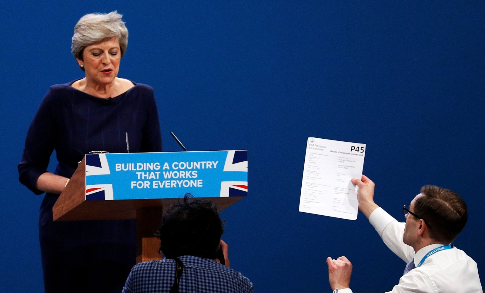 Simon Brodkin Theresa May Conservative Party Conference