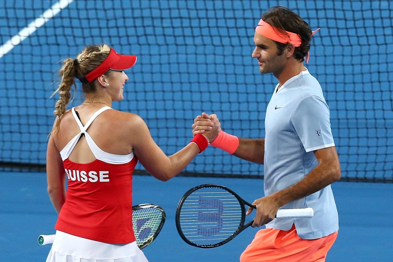 Roger Federer Doubles
