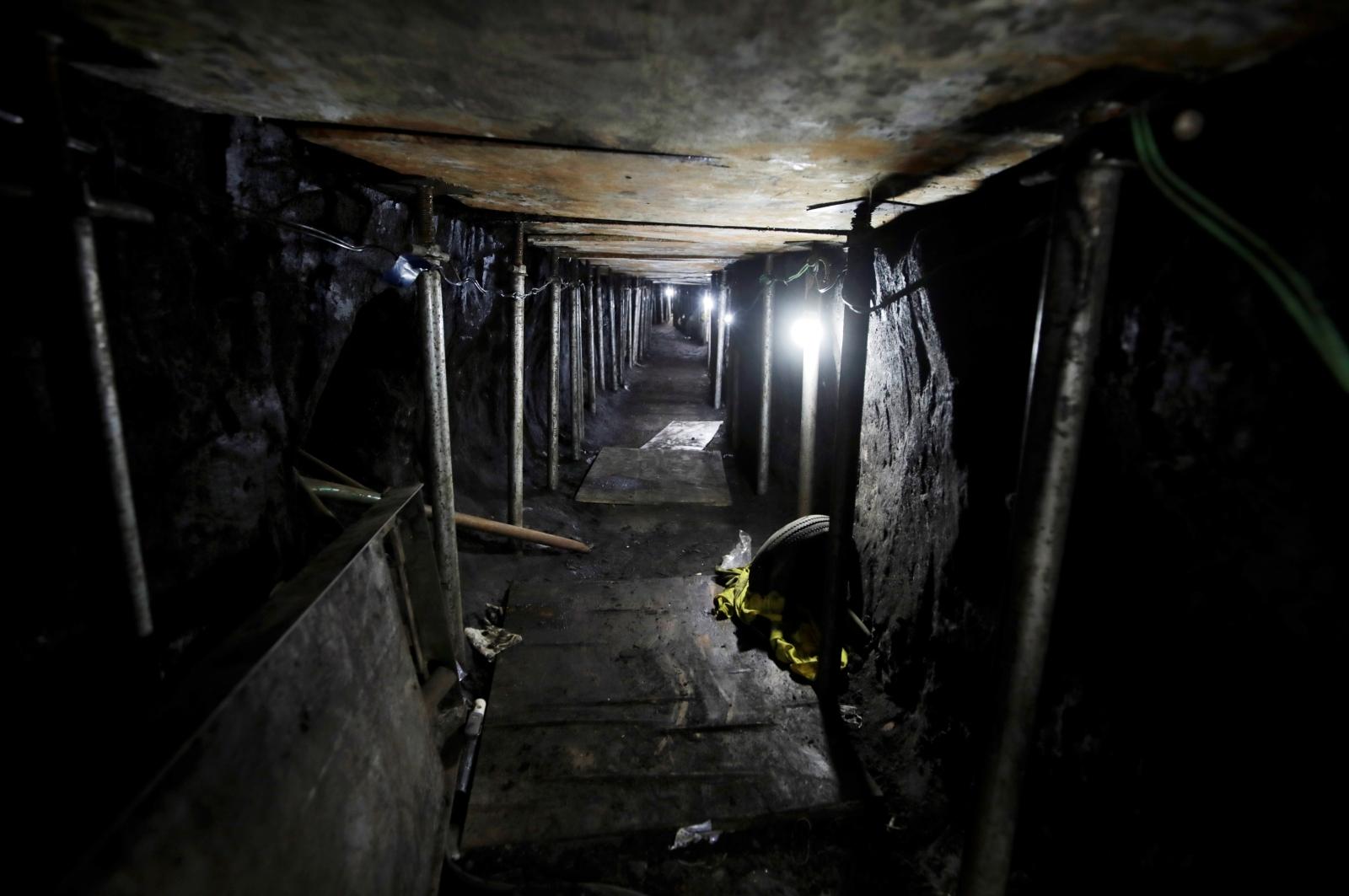 Brazil bank tunnel