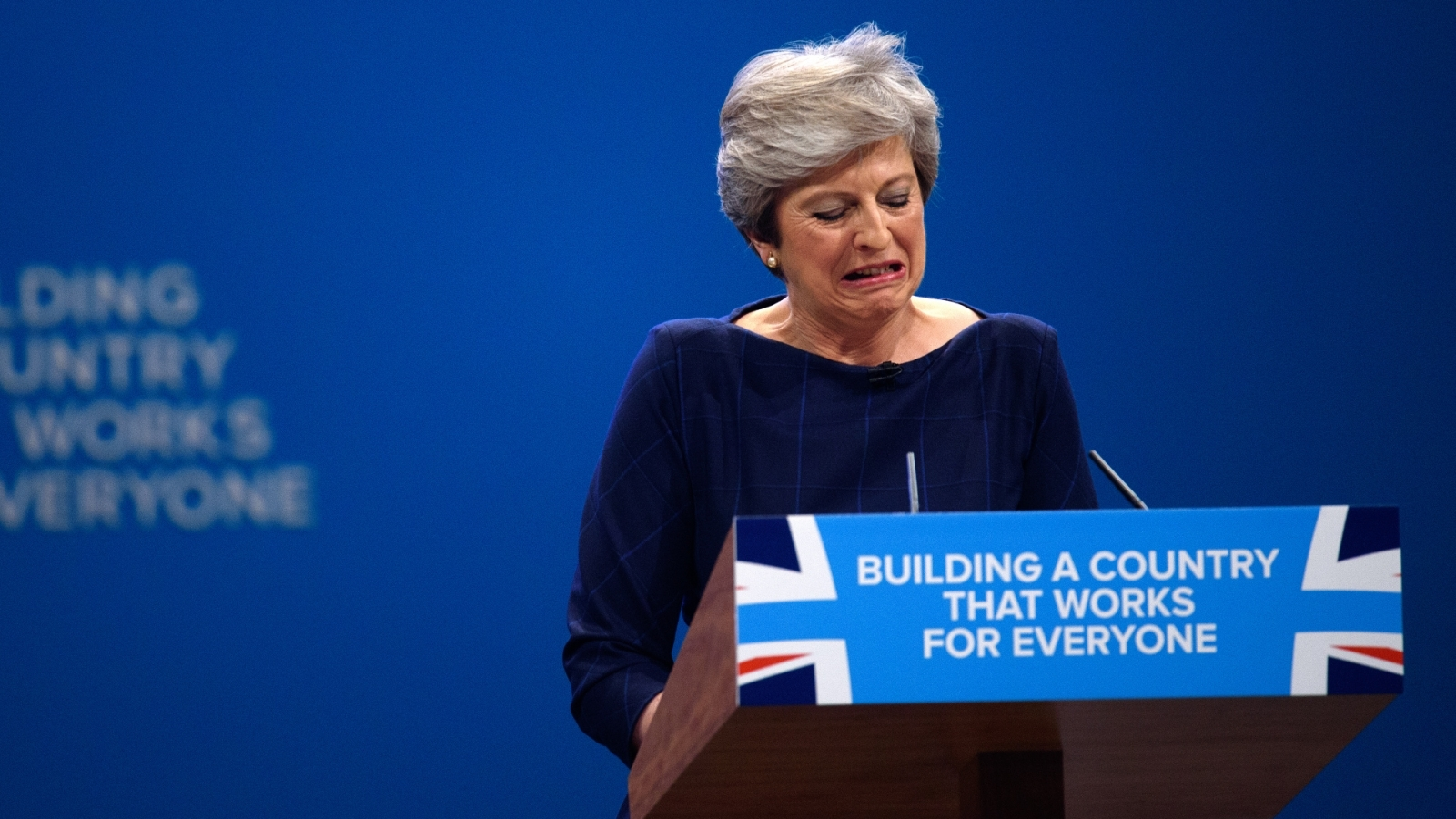 Theresa May Disaster speech