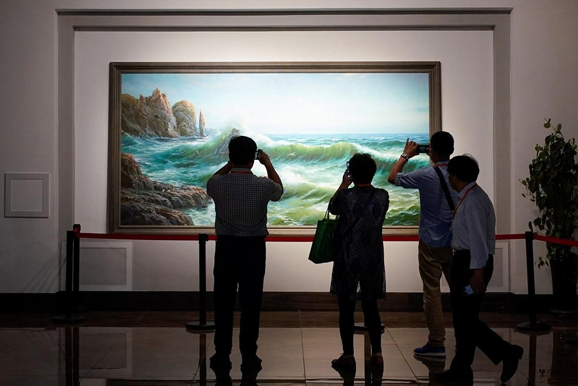North Korea art