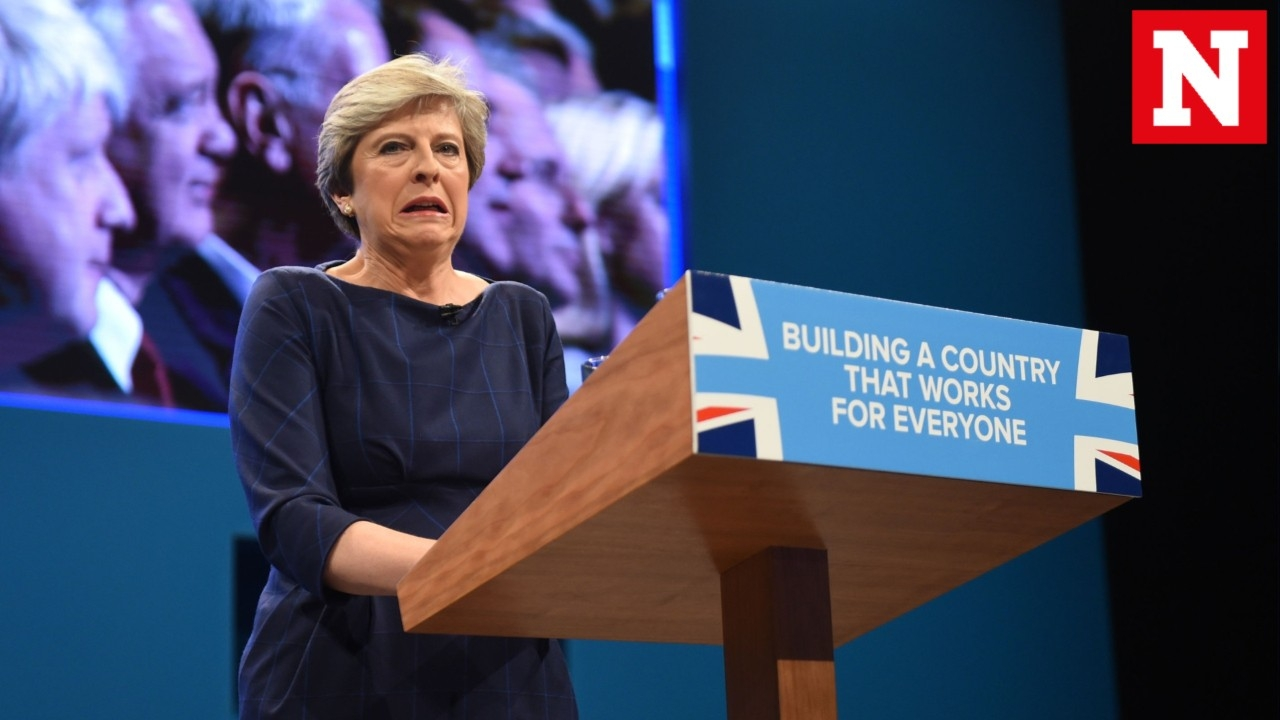Twitters Hilarious Reaction To Theresa May's Horror Speech