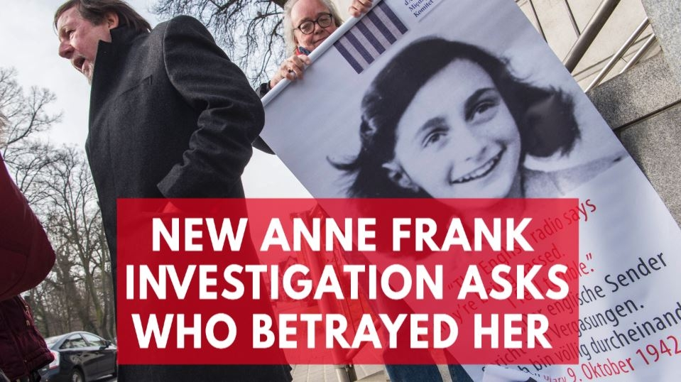 retired-fbi-agent-opens-anne-frank-investigation-to-unravel-great-historic-mystery