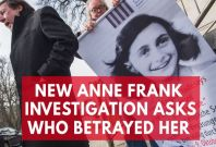 Retired FBI Agent Opens Anne Frank Investigation to Unravel Great Historic Mystery