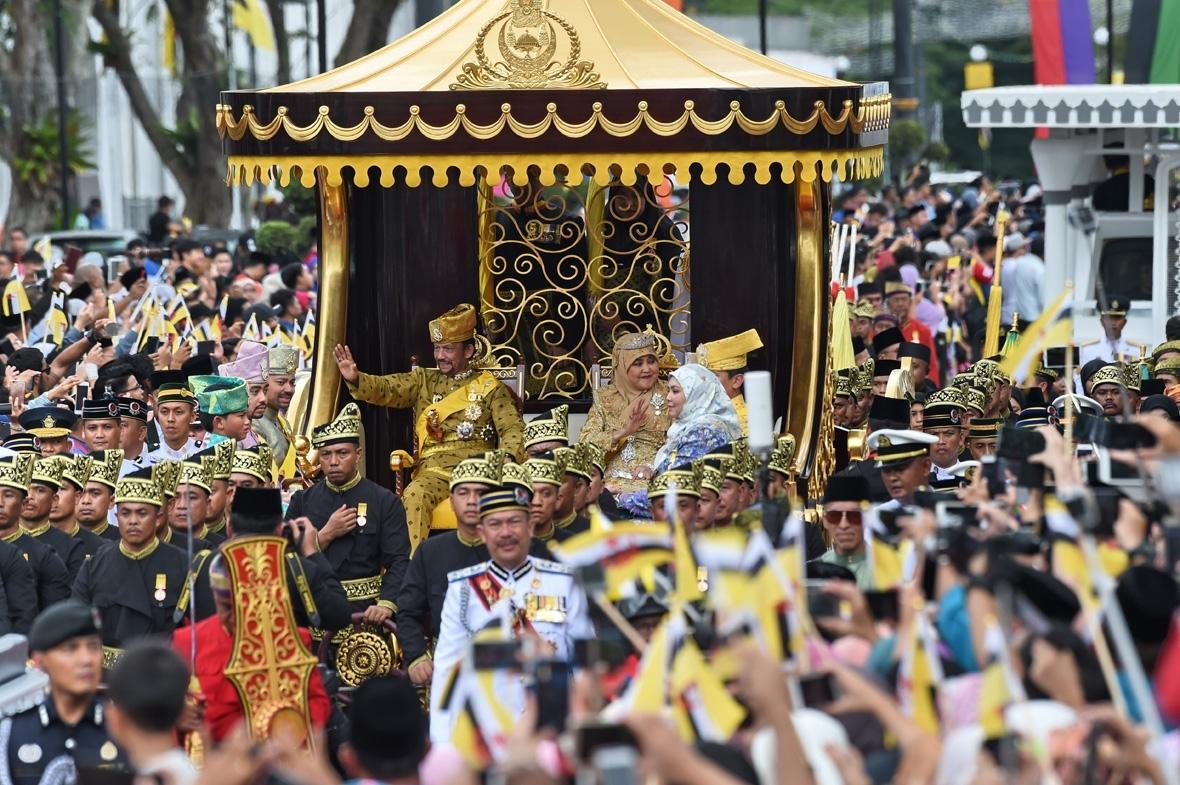 Sultan of Brunei Hassanal Bolkiah