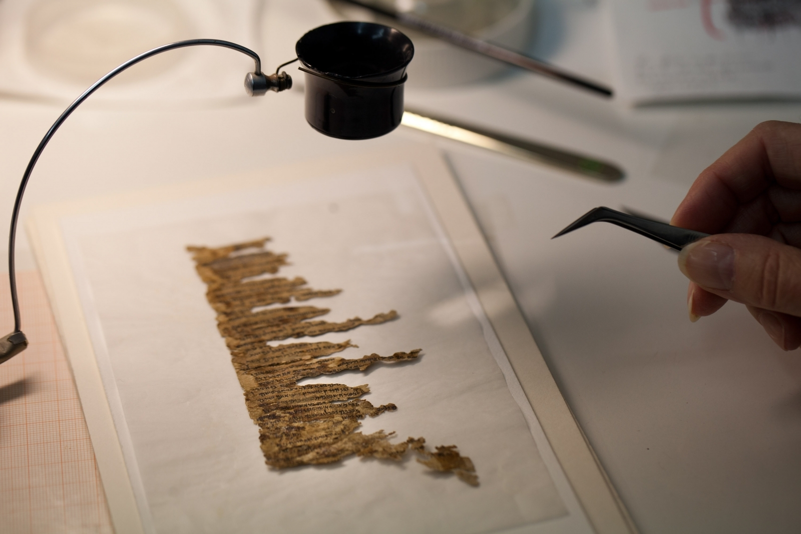Mysterious Dead Sea Scroll deciphered