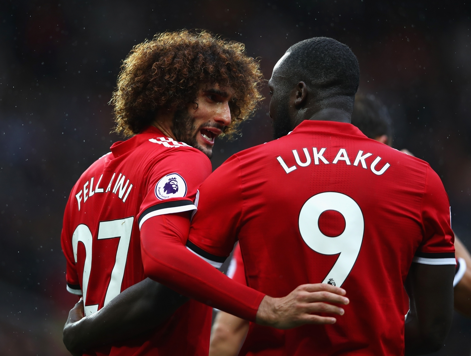 Romelu Lukaku and Fellaini