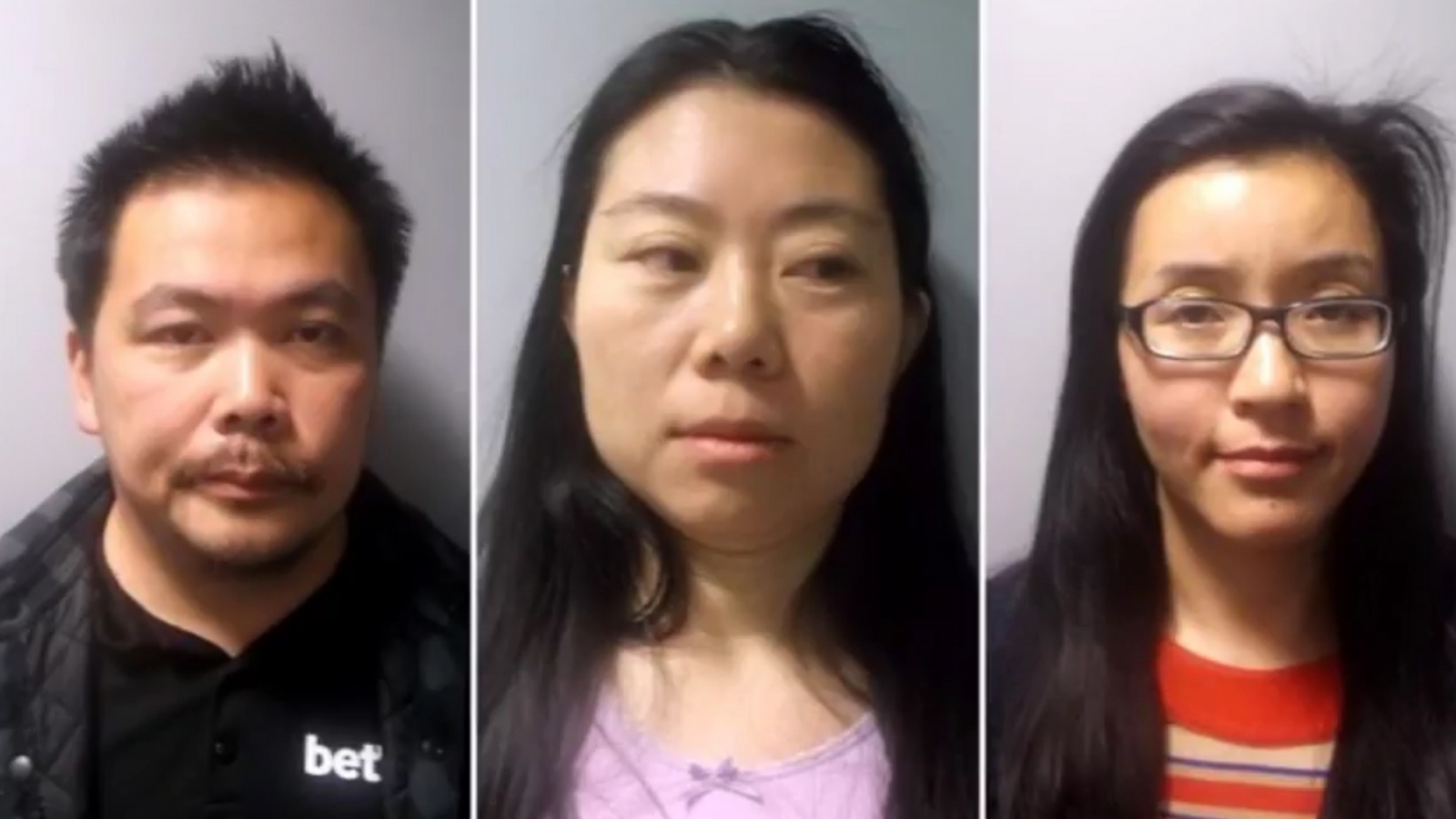 Trio convicted of trafficking