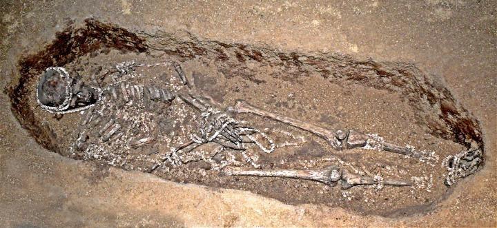 Sunghir burial