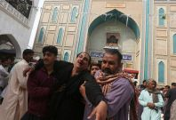Surfi shrine attack in Pakistan