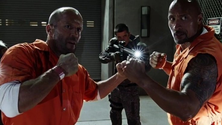 Fast and Furious Rock Statham