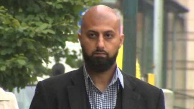 """Zameer Ghumra was found guilty of disseminating """"terrorist propaganda"""" in the form of a graphic Twitter video"""