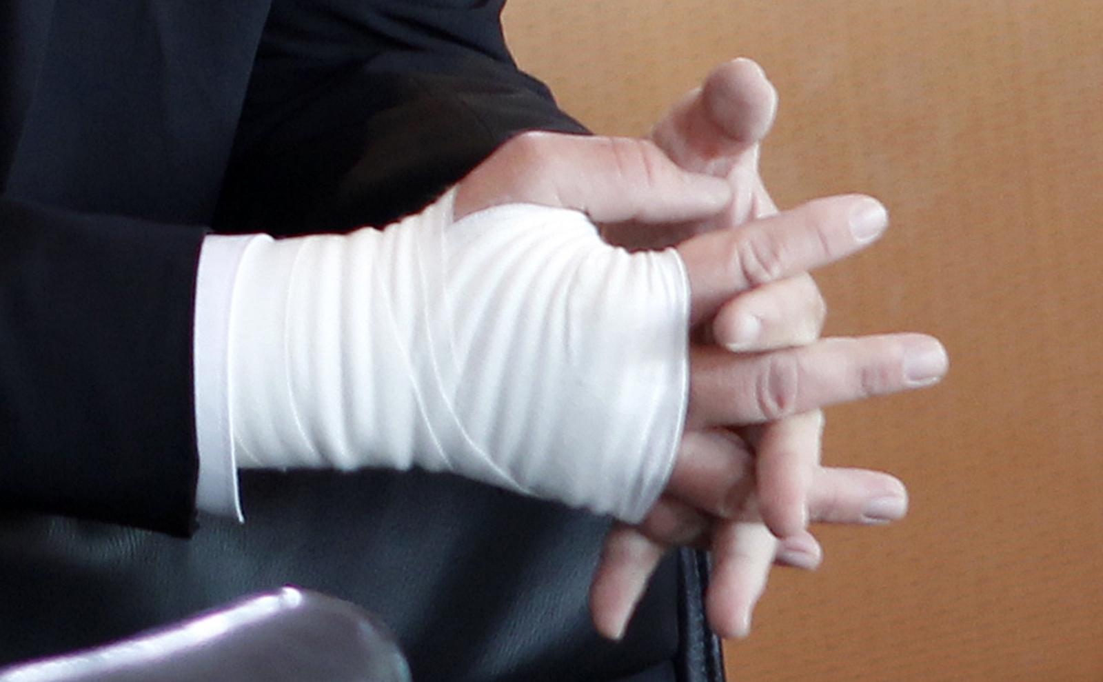 Smart Hand Bandage
