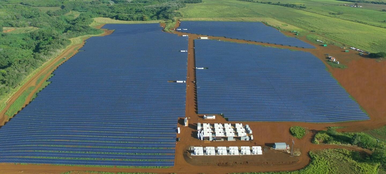 Tesla solar power