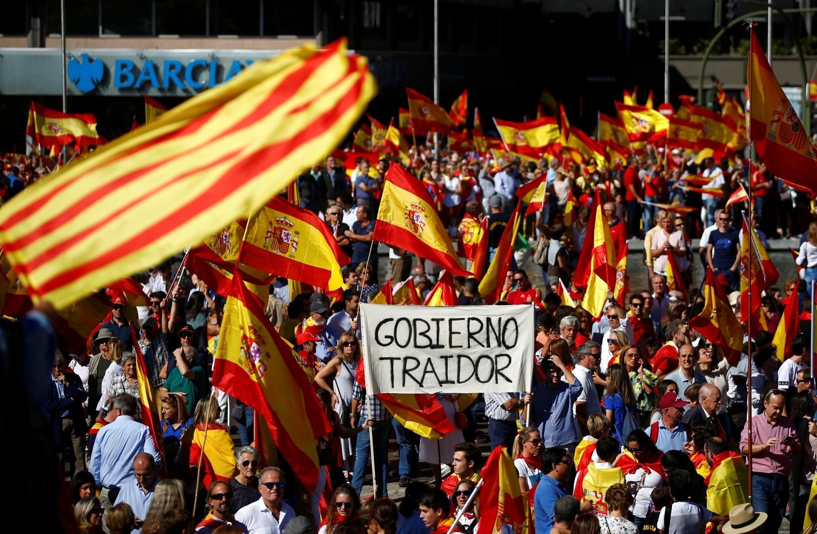 Spain Union Protests Madrid