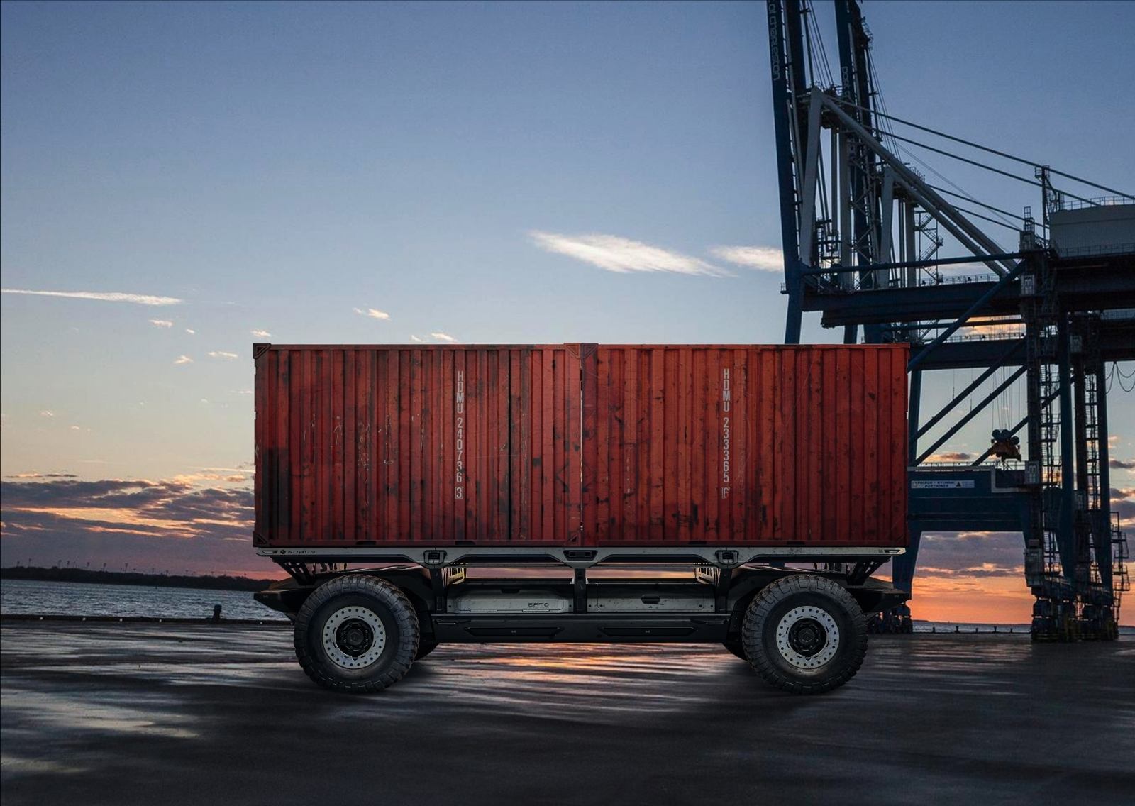 From disasters to freight, this driverless fuel cell platform has it covered