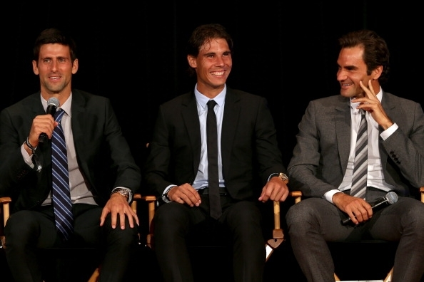 Djokovic, Nadal and Federer