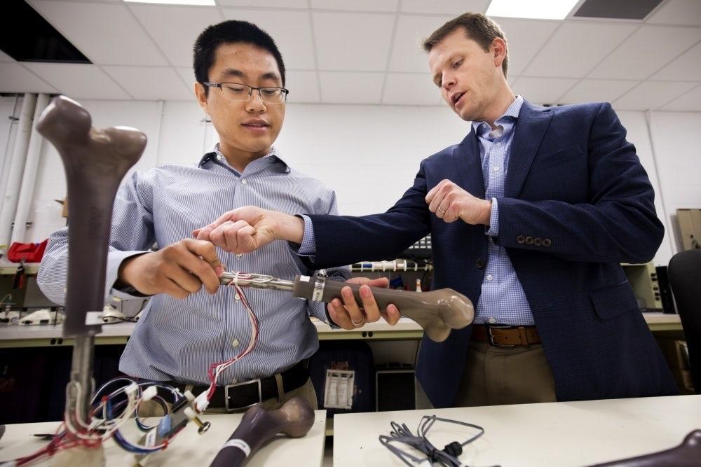 US Navy smart artificial limbs