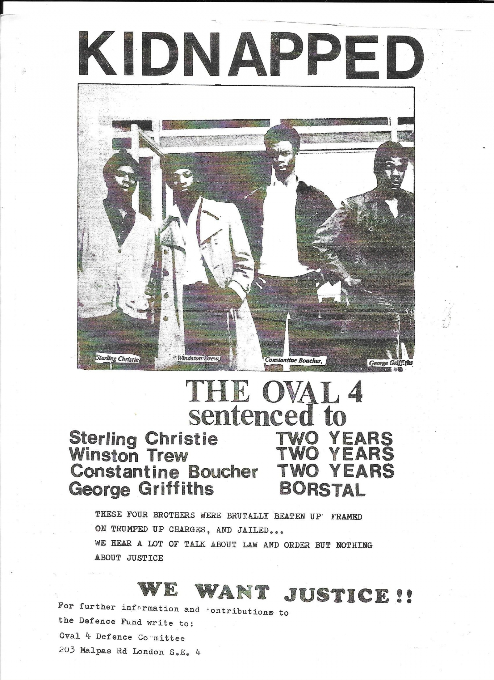 Image result for the oval four newspaper winston trew