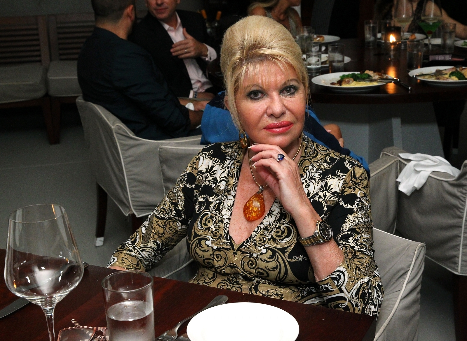In new book, Ivana Trump writes of contentment
