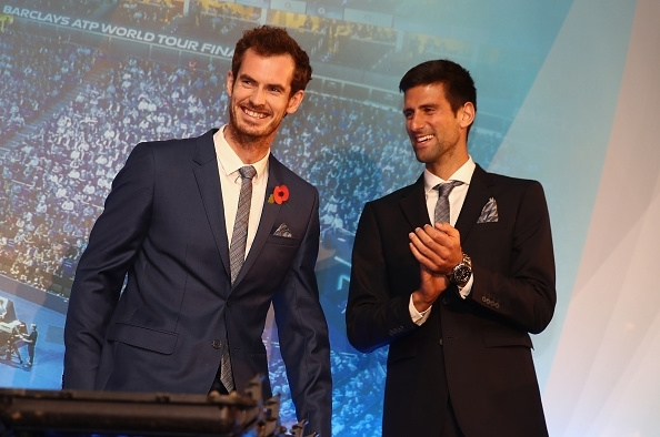 Murray and Djokovic
