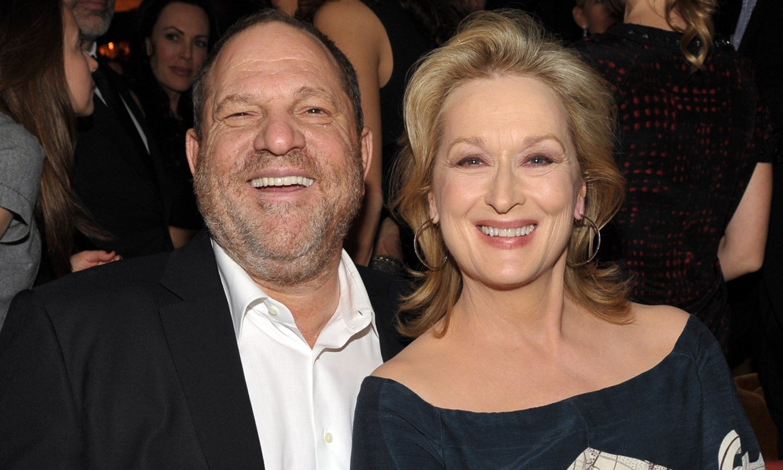 Harvey Weinstein Meryl Streep