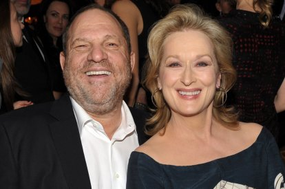 Harvey Weinstein Meryl Streep