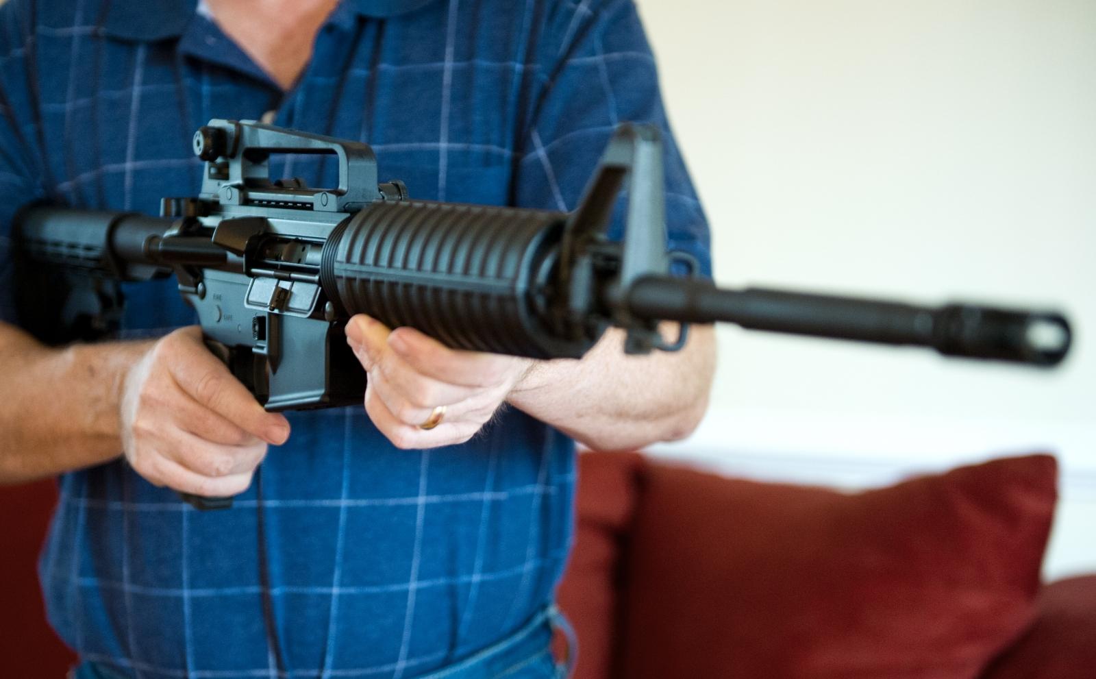 AR-15 rifle