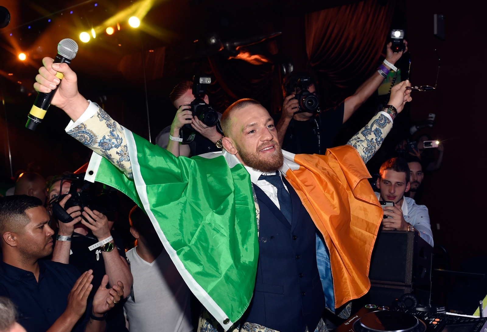 Conor McGregor in talks with 'megabucks' WWE offer for possible WrestleMania match