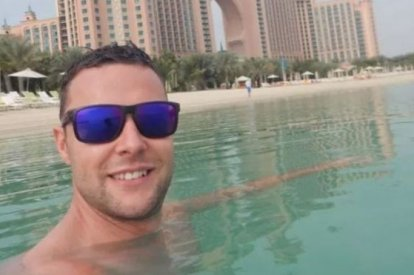 Brit tourist Jamie Harron is facing three years in jail in Dubai after accidentally touching a man's hip in a bar