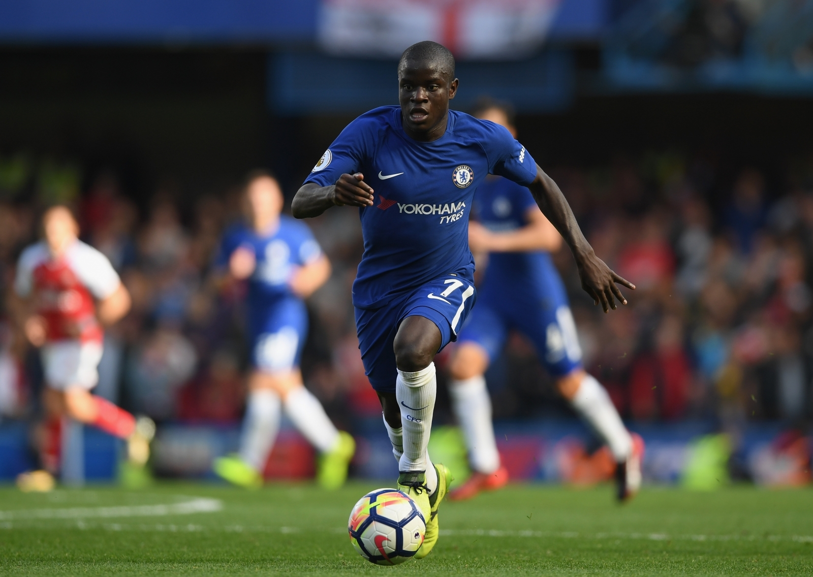 Paris Saint-Germain Eye Chelsea Midfielder N'Golo Kante As