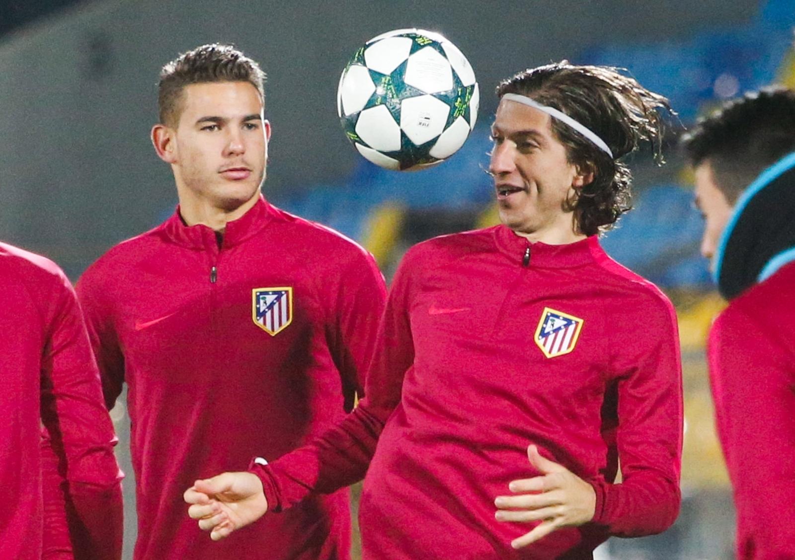 Lucas and Filipe Luis