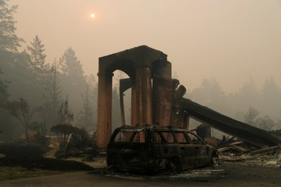 California wine wildfires smoke