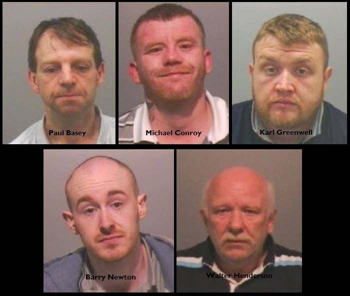 Newcastle cocaine gang