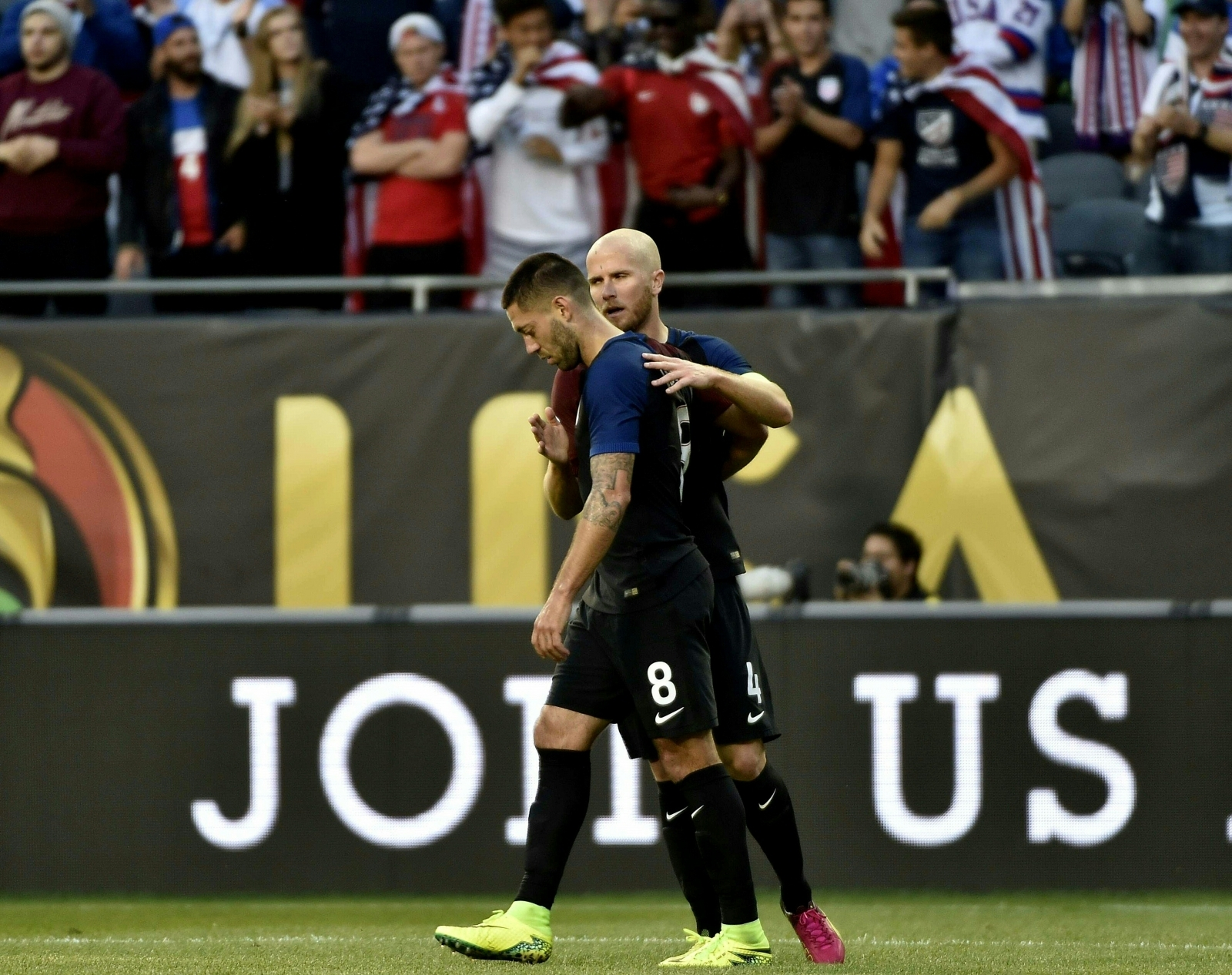 Michael Bradley and Clnt Dempsey
